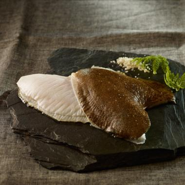 Double filet de turbot avec peau